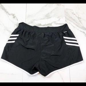 adidas Shorts - Adidas• Black & White Running Shorts